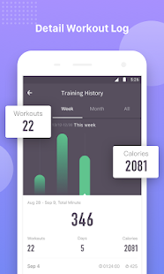 Keep Trainer - Workout Trainer & Fitness Coach Screenshot