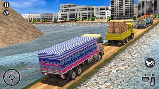 Cargo Indian Truck 3D – New Truck Games 1.15 APK Mod Latest Version 1