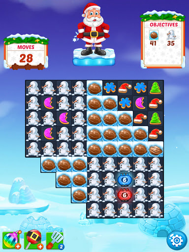 Christmas Cookie - Santa Claus's Match 3 Adventure 3.2.3 screenshots 21
