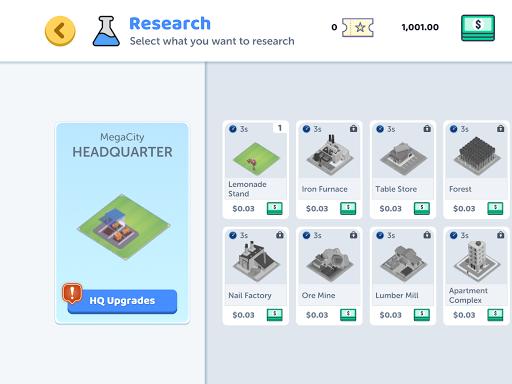 Corp City: Idle Corporation Strategy Games 1.7.0 screenshots 7