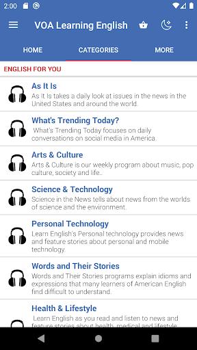 voa learning english: listening & speaking screenshot 3