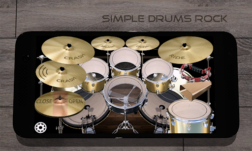 Simple Drums Rock - Realistic Drum Simulator 1.6.4 Screenshots 1