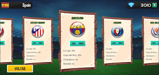 Royal Table Soccer: The Best Button Game modavailable screenshots 6