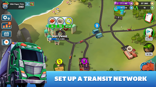 Transit King Tycoon - Seaport and Trucks  screenshots 1