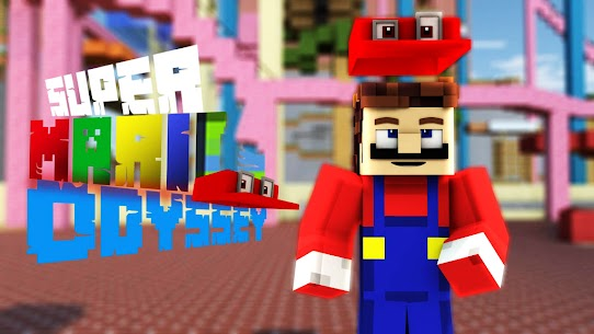 Mario Mod for Minecraft PE   Mario World Map Apk Download 5