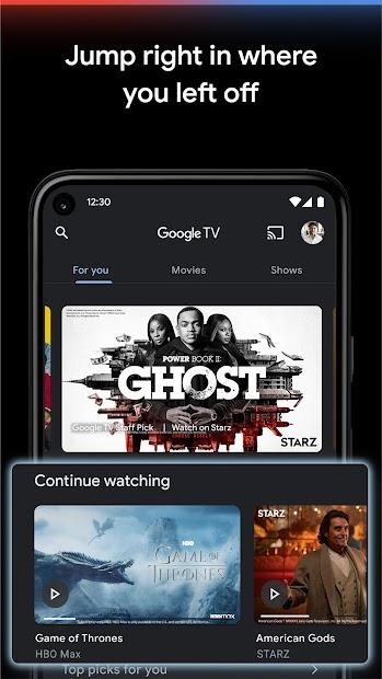 Google TV (previously Play Movies & TV) screenshot 4
