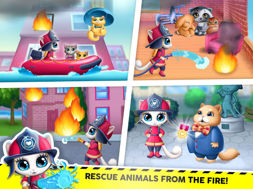 Kitty Meow Meow City Heroes - Cats to the Rescue! 4.0.21003 screenshots 11
