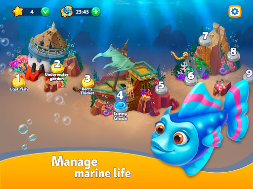 Sea Merge! Fish Aquarium Game & Ocean Puzzle  screenshots 8