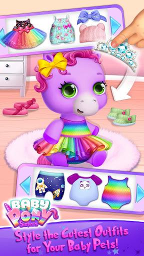 Baby Pony Sisters - Virtual Pet Care & Horse Nanny 5.0.14007 screenshots 3