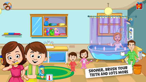My Town: Home Dollhouse: Kids Play Life house game  screenshots 2