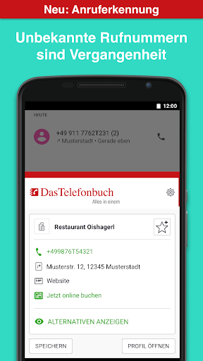Das Telefonbuch with caller ID and spam protection  screenshots 2