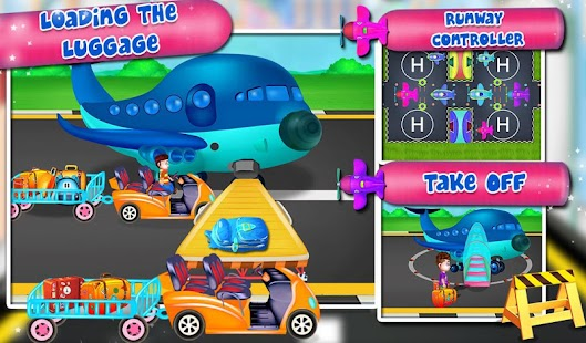 Vacation Travel To Airport : Airplane Games Screenshot