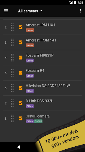 tinyCam Monitor FREE - IP camera viewer 15.0 - Google Play screenshots 4