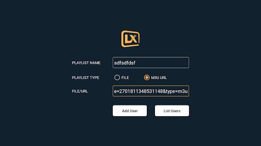 Lxtream Player 1.2.6 Screenshots 7