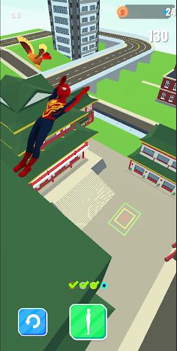 Superhero Flip Jump:Spider Sky  screenshots 3