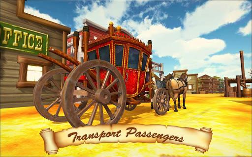 Horse Taxi City Transport: Horse Riding Games 1.2.1 screenshots 1