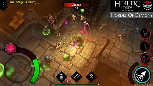 Télécharger Gratuit HERETIC GODS APK MOD (Astuce) screenshots 1