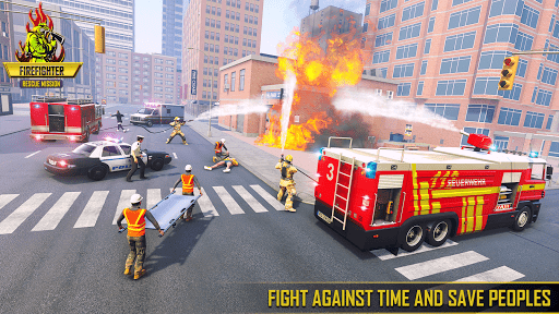 Firefighter Games : fire truck games  screenshots 12