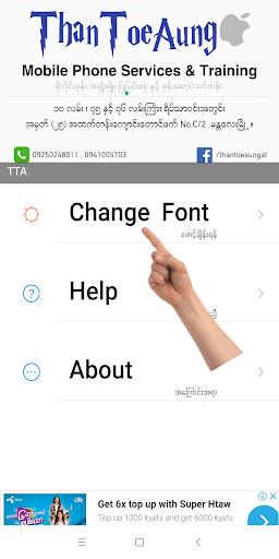 TTA Mi Myanmar Font Lite  screenshots 1