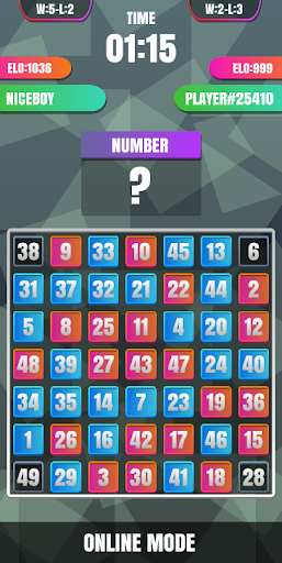 finding numbers 1 to 100 puzzle online screenshot 2