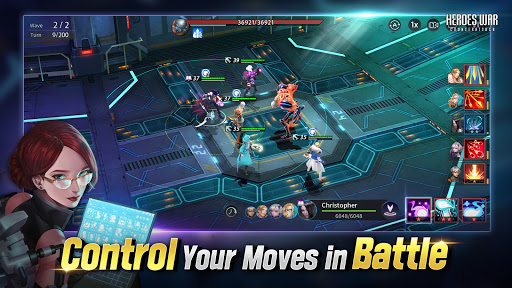 Heroes War: Counterattack apkpoly screenshots 4