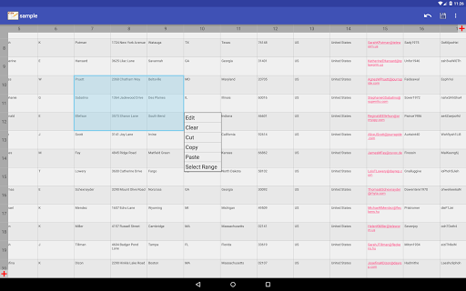 CSV Editor  Screenshots 9