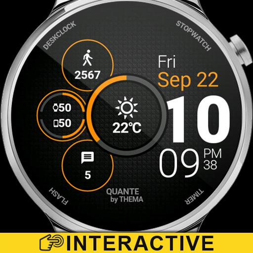 Quante Watch Face & Clock Widget Icon
