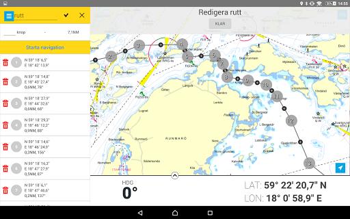Eniro På sjön - Gratis sjökort  screenshots 12