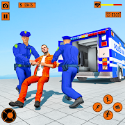 Police Prisoner Transport Truck Simulator Games