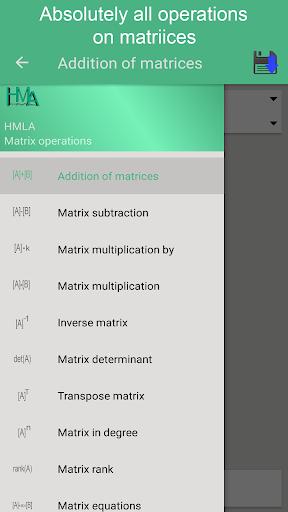 matrix operations premium screenshot 1