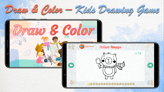 Draw & Color - Kids Drawing Game 2021.1.1.2 screenshots 1