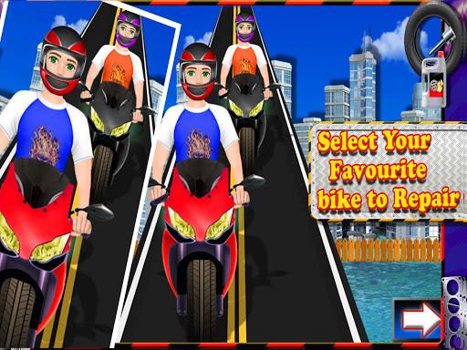 Repair Master 2D: Bike Mechanic Simulator Game screenshots 6