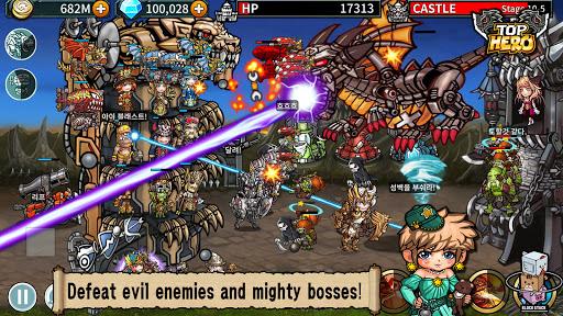 Top Hero - Tower Defense  screenshots 4