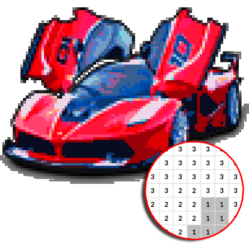Baixar Car Color By Number - Pixel Art