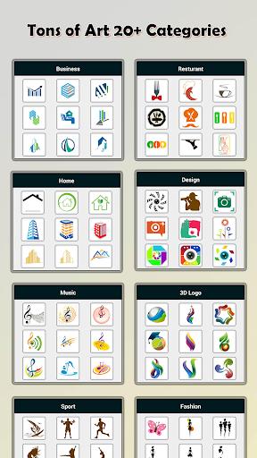 Logo Maker - Logo Creator & Poster Maker 2.1.3 Screenshots 4