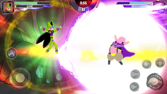 Stickman Warriors – Super Dragon Shadow Fight APK MOD 1.3.4 (Unlimited Money) 8