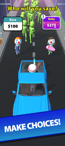 Save the Town - Free Car Shooting & Battle Game  screenshots 3
