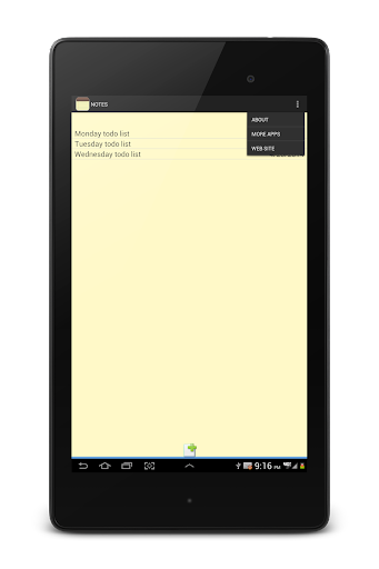 NOTES 1.27 Screenshots 23