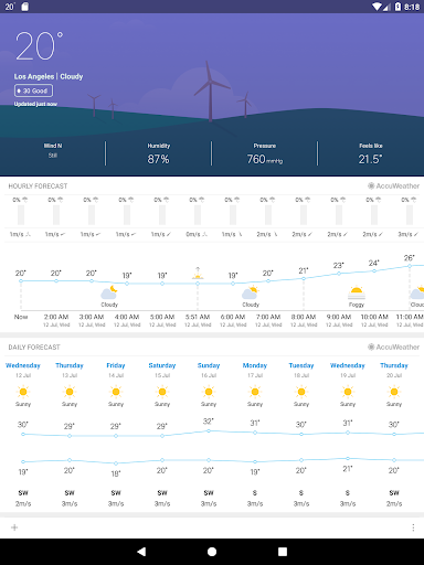 Weather Mate (Weather M8) 1.6.7 Screenshots 11