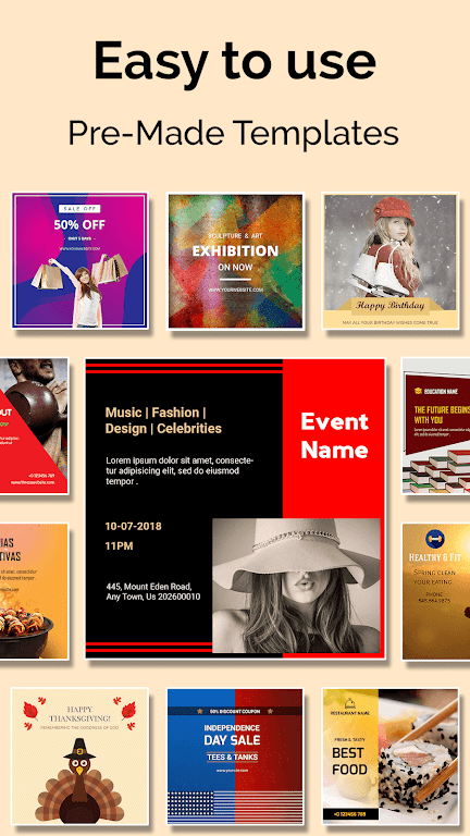 Social Media Post Maker, Planner, Graphic Design  poster 0