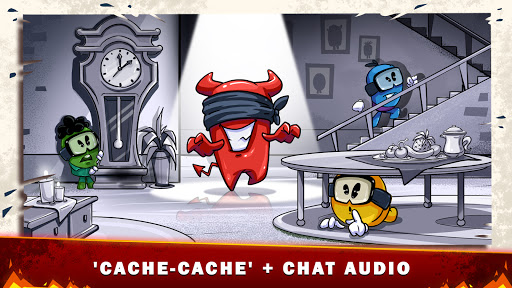 Code Triche Diable parmi nous + cache-cache avec chat vocal  APK MOD (Astuce) screenshots 1