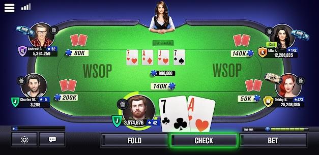 World Series of Poker WSOP Free Texas Holdem Poker 7
