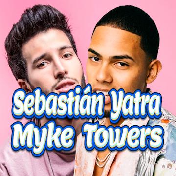 Captura 1 de Sebastián Yatra, Myke Towers - Pareja del Año para android
