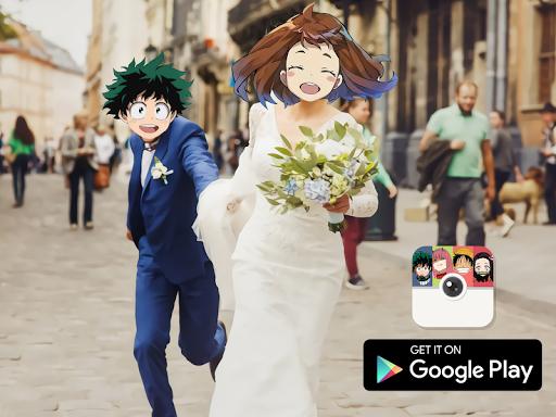 Anime Face Changer - Photo Editor  Screenshots 1