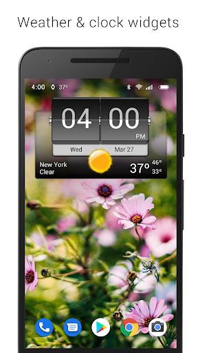 3D Flip Clock & Weather 5.82.2 screenshots 1