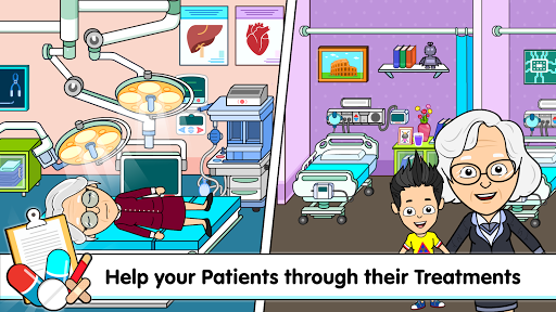 My Tizi Town Hospital - Doctor Games for Kids ud83cudfe5 screenshots 7