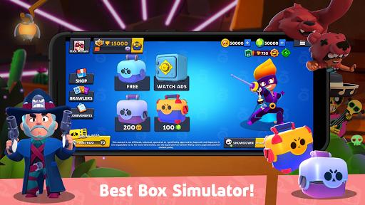 Box Simulator for Brawl Stars: Cool Boxes!  screenshots 1