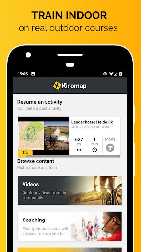 Kinomap - Indoor training videos  Screenshots 1