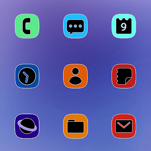 One UI Fluo Apk- Icon Pack 2.1.7 (Paid) 2