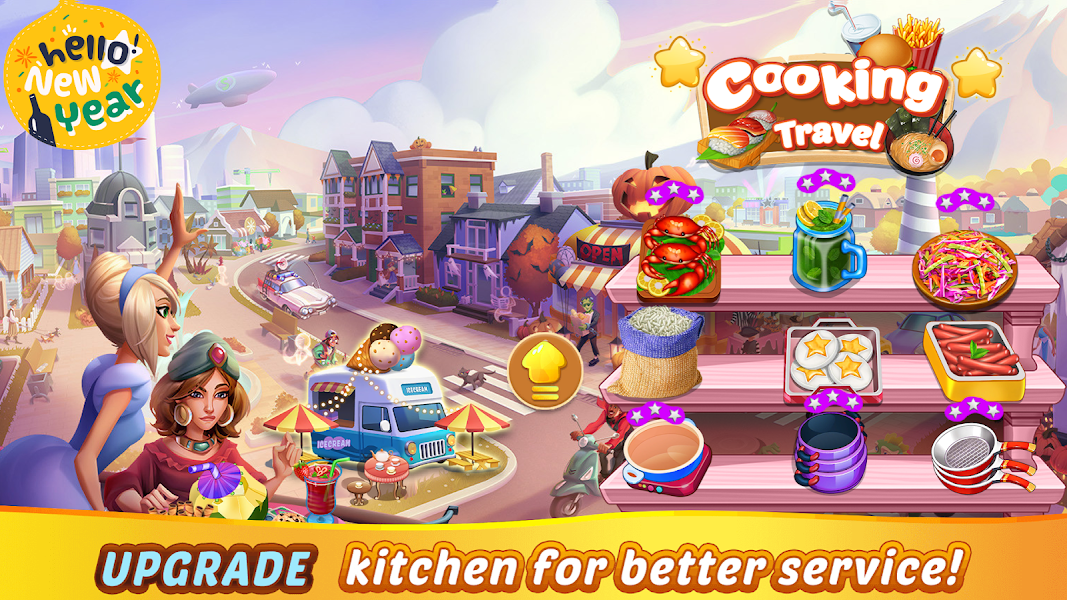 Restaurant Travel - A Cooking Game